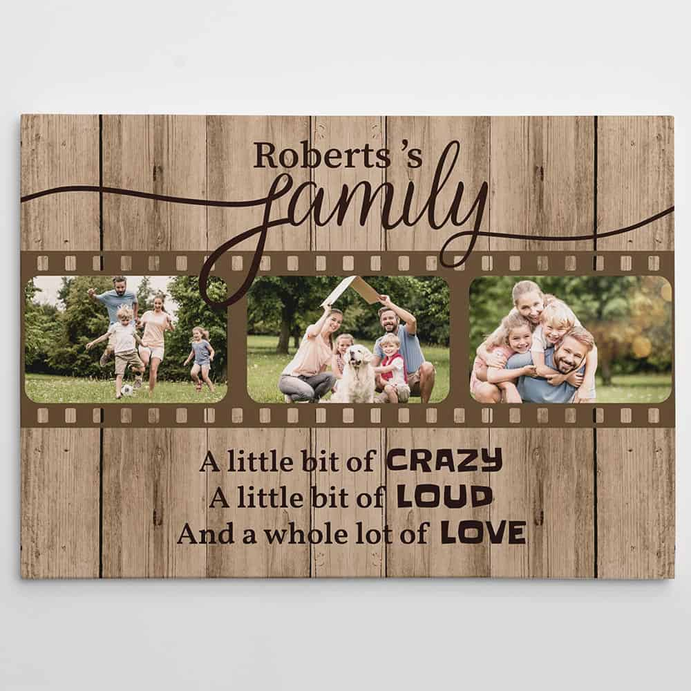 Family Quote Custom Canvas