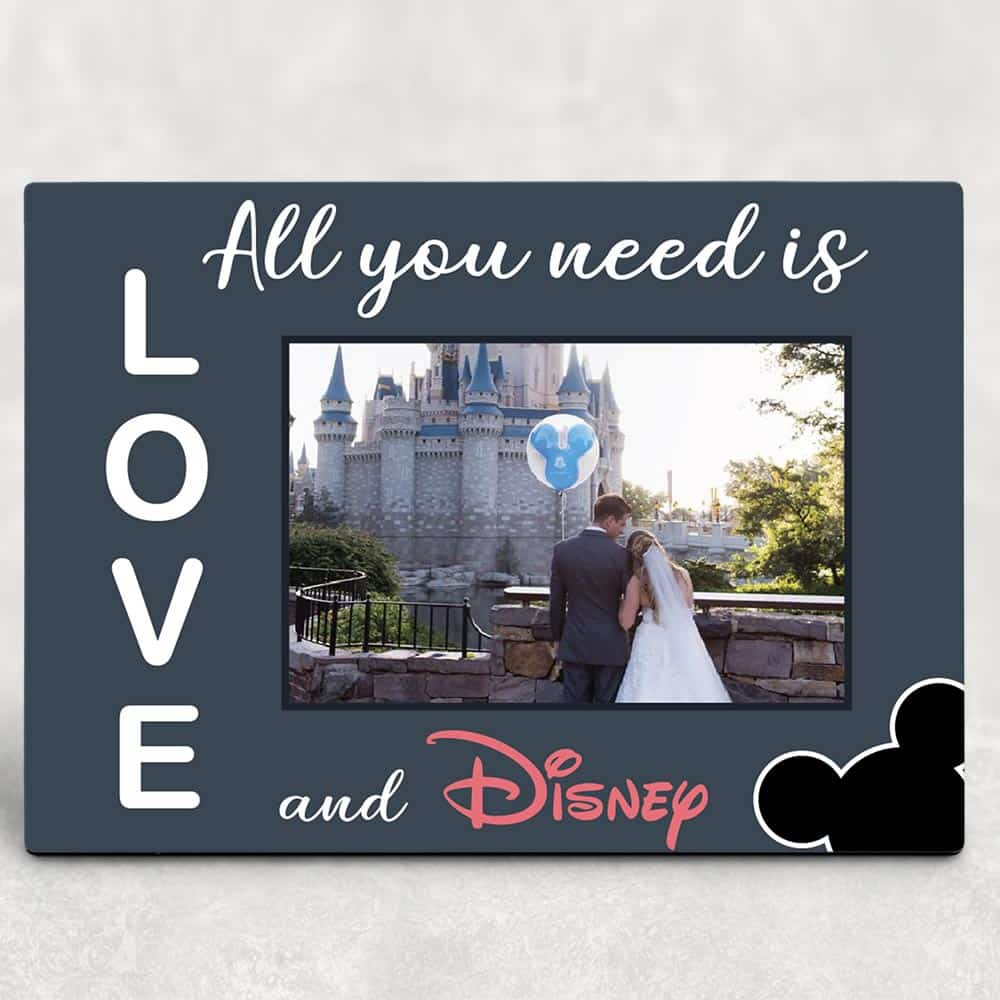 All You Need Is Love Custom Photo Plaque