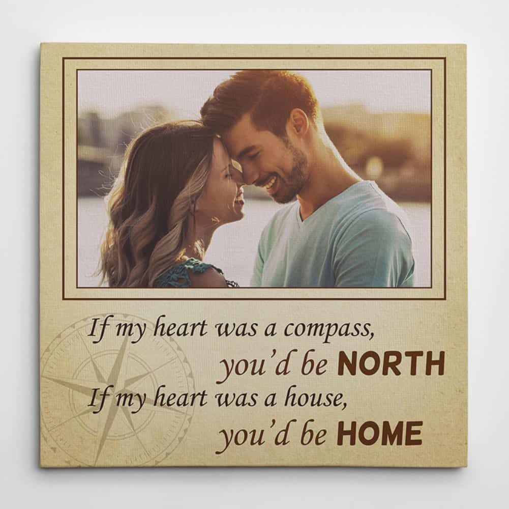 If My Heart Was a House Square Canvas