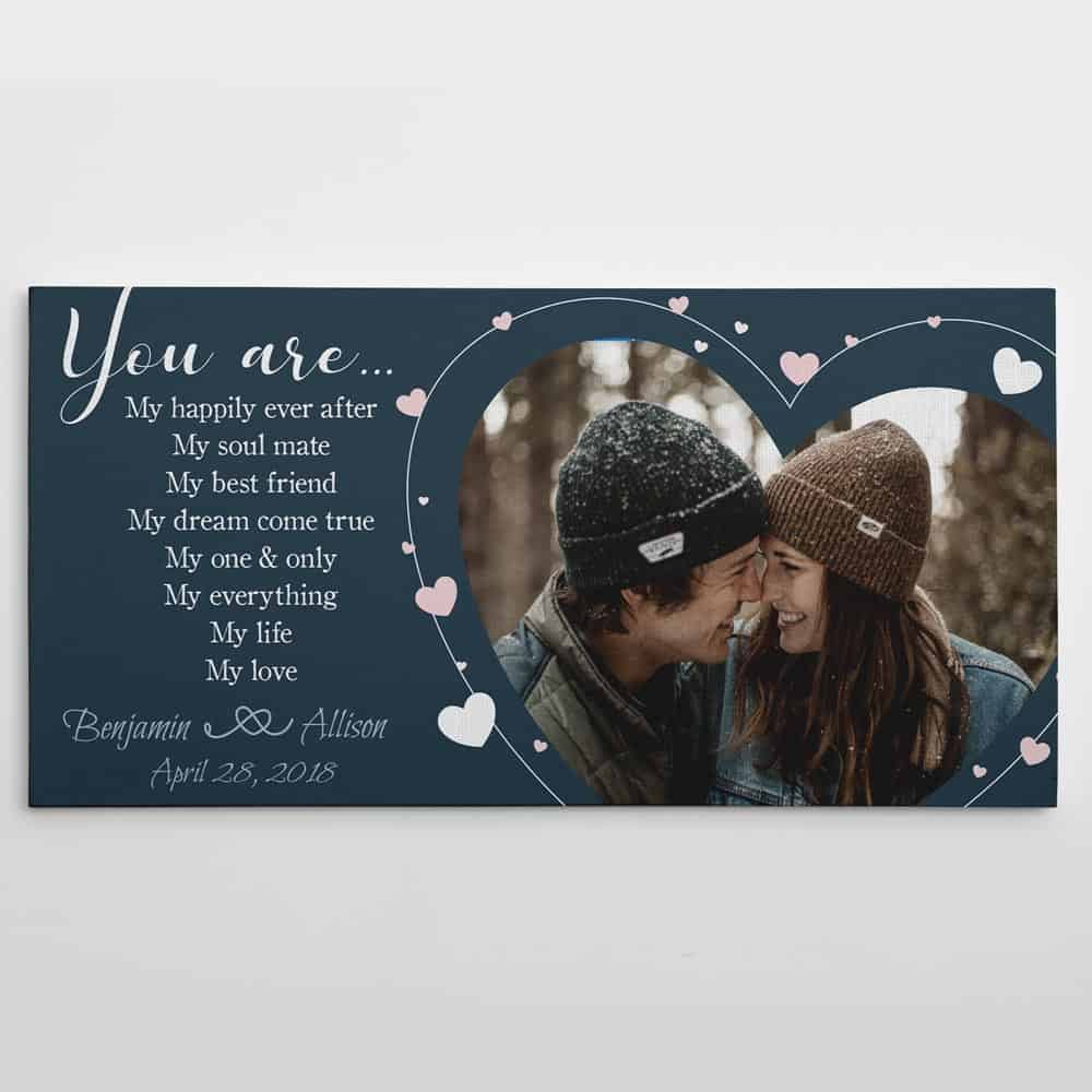 You are My Everything - My Life - My Love Custom Photo Canvas