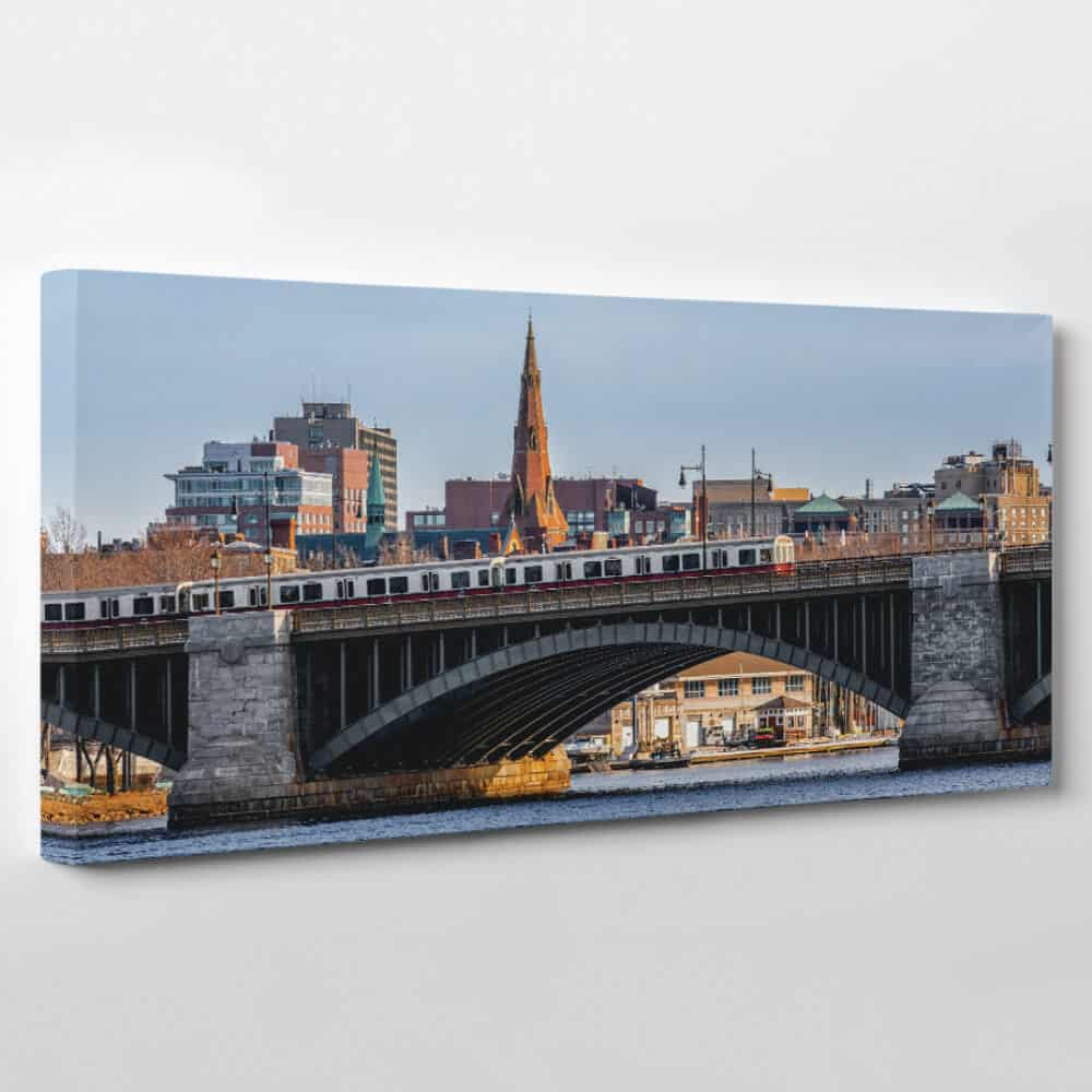 Boston, Massachusetts Skyline Canvas Wall Art