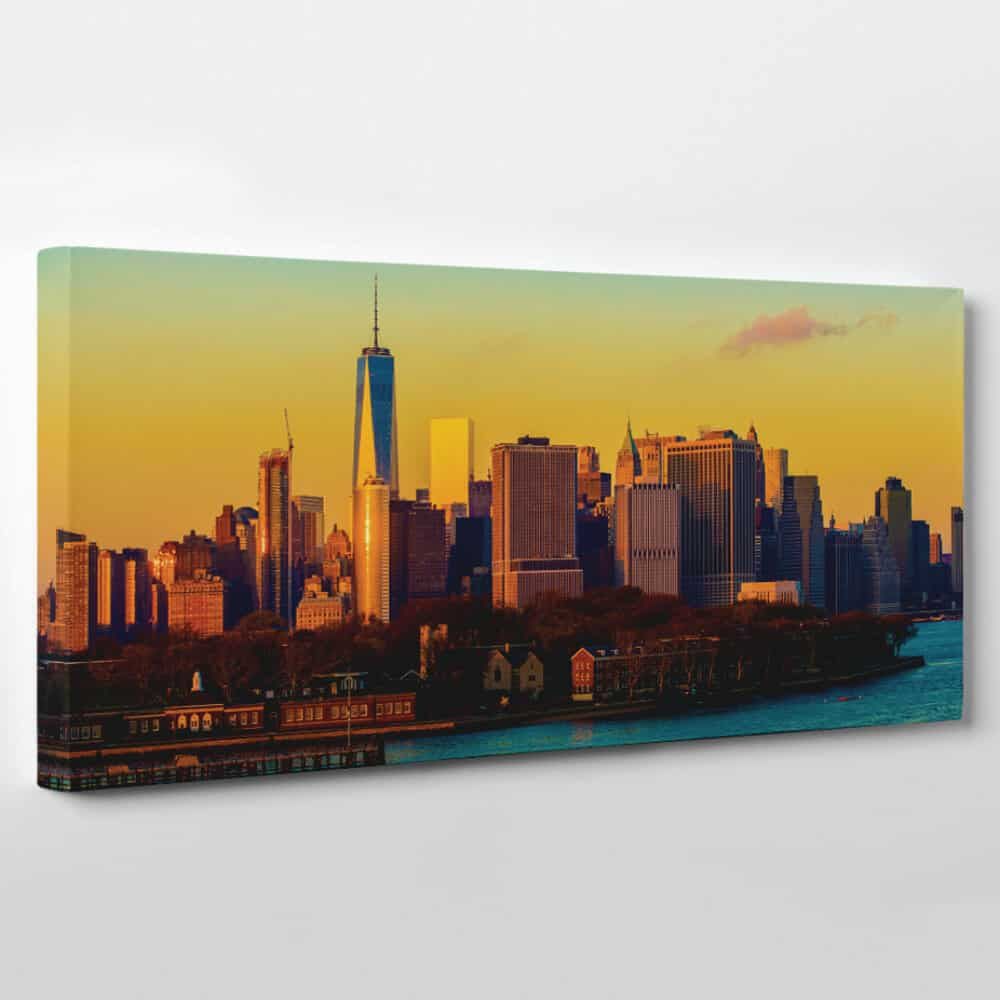 New York City Skyline Canvas Wall Art