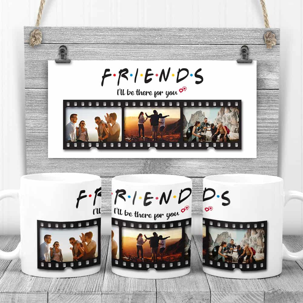I'll Be There For You photo mug