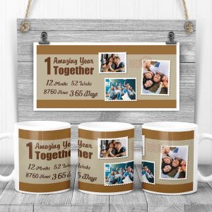 amazing year together custom mug