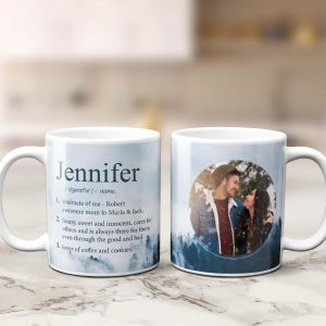 Funny Name Definition Custom Photo Mug