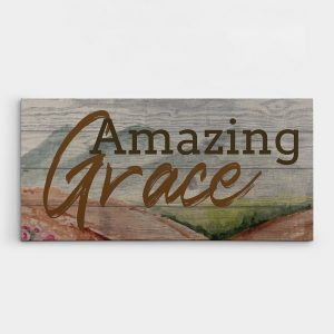 Amazing Grace Christian Wall Art