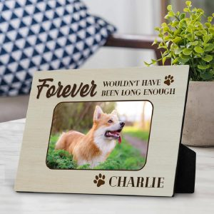 forever wouldn't have been long enough custom photo desktop plaque