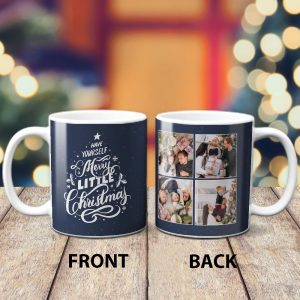 Have Yourself Merry Little Christmas Custom Photo Mug