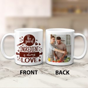 The Secret Ingredient is Always Love Photo Mug - anniversary gift idea