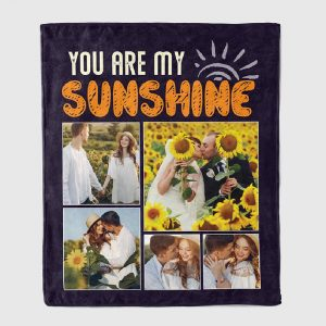 You Are My Sunshine - Custom Photo Blanket