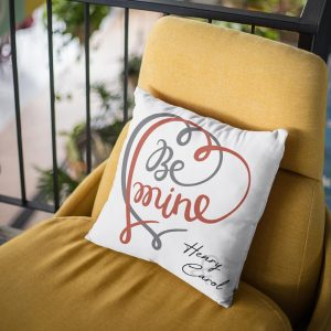 Be Mine Custom Pillow - romantic gift ideas for him and her