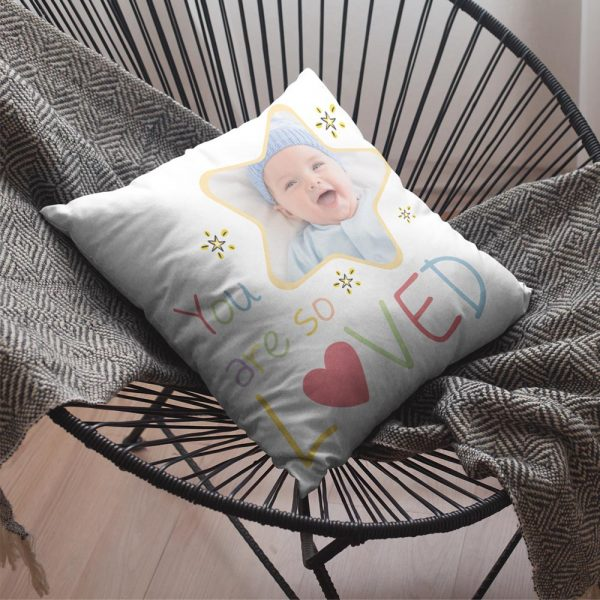 You Are So Loved Personalized Baby Pillow