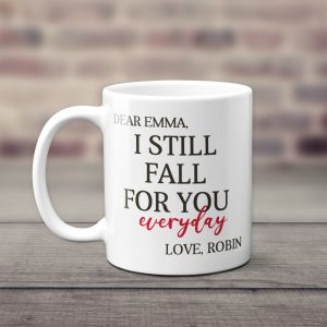 I Still Fall For You Everyday Custom Photo Collage Mug