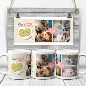 Oliver You So Much Custom Photo Collage Mug