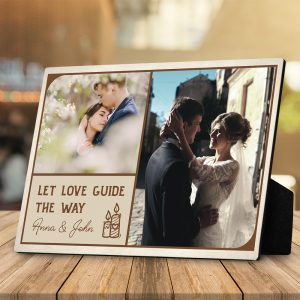 Let love guide the way desktop plaque